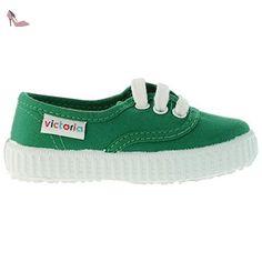 Victoria 06613Unisexe Sneaker - vert - vert, 23 EU - Chaussures victoria (*Partner-Link)
