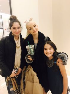So jells right know in good way I want to meet Dove cameron so so bad I love her so much
