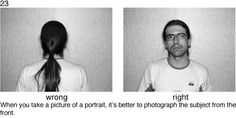 78 Photography Rules for Complete Idiots