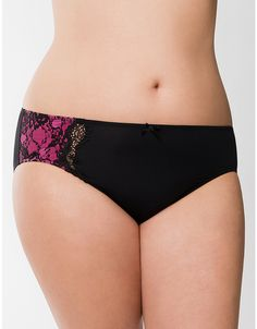fcce10e1e0 Beautiful Lace Hipster Panty by Cacique