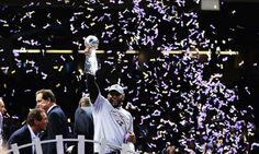 NFL: Baltimore Ravens win Super Bowl but have to withstand San Francisco comeback after power outage stops play for 34 minutes Monday Night Football Game, Super Bowl Winners, Ray Lewis, Baltimore Ravens, San Francisco 49ers, Espn, Comebacks, Concert, Image