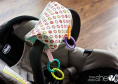 A Real Arm Saver - DIY infant carrier cover | How Does She