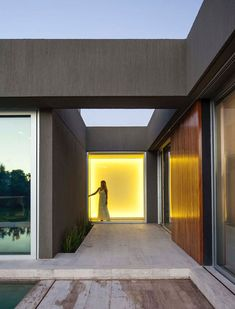 Casa PR Garage Doors, Outdoor Decor, Home Decor, Landscaping, Contemporary Architecture, Architectural Firm, Houses, Pictures, Home
