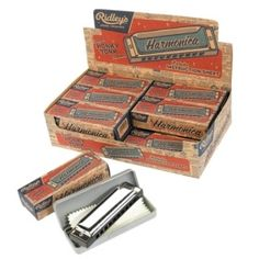 "Wild & Wolf ""Ridley's House of Novelties"" harmonicas"