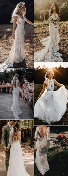 gorgeous lace wedding dresses Throwing a rustic country wedding? Choosing the right rustic country wedding dresses is one of the most special moments in planning your rustic country wedding. Outdoor Wedding Dress, Cute Wedding Dress, Backless Wedding, Country Wedding Dresses, Princess Wedding Dresses, Wedding Country, Wedding Ceremony, Wedding Venues, Wedding Dresses With Straps