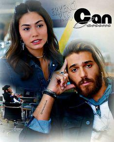@canyaman @1demetozdemir @erkenci.kus  #canyaman #demetözdemir #ErkenciKuş #CanEm❤❤#love❤❣️💞🥰 ♾3️⃣6️⃣❤ Санем...и её… Joker Art, Early Bird, Canning, Couples, Hair Styles, Turkey, Instagram, Beautiful, 2016 Movies