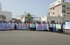 اخر اخبار اليمن - عمال ميناء المكلا يصعّدون من احتجاجتهم الرافضة لقرارات الجبواني الهادفة «لأخوَنَة الميناء»