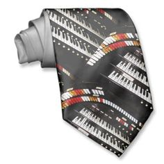 3ad71660138a Tie, Antique Organ Keyboard, Pattern Repeats - vintage organ keyboard tie.  #music #MusicalInstruments #Keyboards #MusicLovers