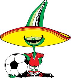 Pique Mexico 86 World Cup Soccer Art, Play Soccer, King Arthur Movie, World Cup Logo, Mexico 86, Mexico World Cup, Mexico Soccer, Football Mexicano, Most Popular Sports