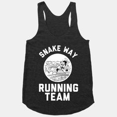 Snake Way Running Team tank. Tons of awesome Dragon Ball Z shirts/accessories at lookhuman.com!