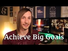 How to Achieve Big Goals Without Getting Overwhelmed http://seanwes.tv/132