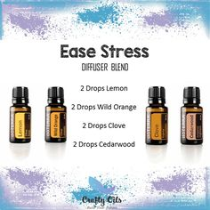 Ease Stress Essential Oil Diffuser Blend
