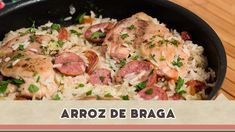 Arroz de Braga - Receitas de Minuto #100 https://retornosms.com.br/receitas/arroz-de-braga-receitas-de-minuto-100/