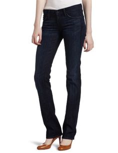 7 For All Mankind Women's Straight Leg Jean in Los Angeles Dark, Los Angeles Dark, 31 buy at http://www.amazon.com/dp/B00143OGKM/?tag=bh67-20