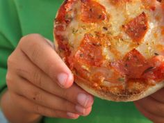 English Muffin Pizzas (and the trick to making them good)