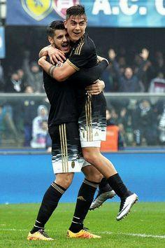 Juventus, alvaro morata e paulo dybala imagem on We Heart It