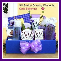 Photo: CONGRATULATIONS JANUARY GIFT BASKET DRAWING WINNER: Karla Ballenger  Submit Your Monthly Entry Today At: http://www.LaBellaBasketsDrawing.com/KimsLabellabaskets/Drawings