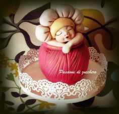 little daisy - by passionidizucchero @ CakesDecor.com - cake decorating website