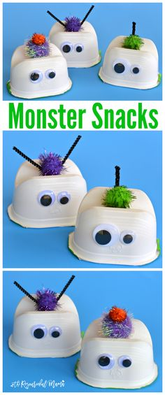 These wacky monster