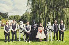 Chic Star Wars Themed Wedding Ideas | Bridal Musings Wedding Blog 14