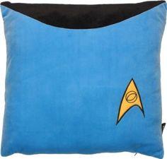 Star Trek Sciences Blue x Square Throw Pillow / Cushion Blue Throw Pillows, Toss Pillows, Accent Pillows, Star Trek 50th Anniversary, Geek Gadgets, Dream House Interior, Blue Home Decor, Pop Culture, Geek Stuff