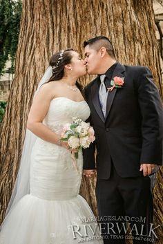 Spring Wedding 2016 San Antonio Riverwalk www.MarriageIsland.com  (210) 667-6503   All Inclusive San Antonio Riverwalk Weddings  