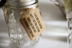 wedding mason jar tags Personalized gift tags Qty 25 by ChelseaLaneCo on Etsy Wedding Favors, Our Wedding, Wedding Ideas, Wedding Invitations, Pink Black Weddings, Mason Jar Tags, 25 Year Anniversary Gift, Wedding Invitation Inspiration, Cute Messages
