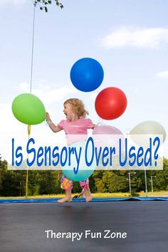 There are many children who have sensory problems that are affecting their life, but there is also a lot of normal kid behavior that parents have to deal with, without using sensory as an excuse.
