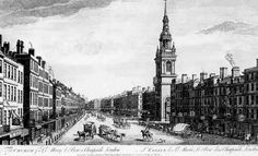 Cheapside in the mid 18th century. Image @Republic of Pemberley