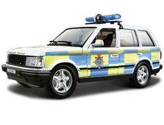 The Burago Range Rover Police 1994, is a diecast model car kit from this fantastic manufacturer in 1/24th scale. Build them, display them, collect them. Bburago's range of 1/24 scale die cast kits give you the chance to build your own super car or even a classic car. With a fully painted die cast metal body and coloured plastic detailing parts these kits will make up into a model you will want to display.