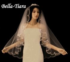 Nola - Gorgeous vintage romantic Wedding Veil