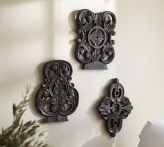 Carved Key Tops | Pottery Barn