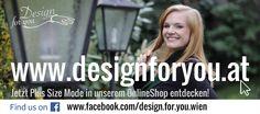 Entdecken Sie jetzt exklusive Big Size Damenmode made in Austria!  www.designforyou.at