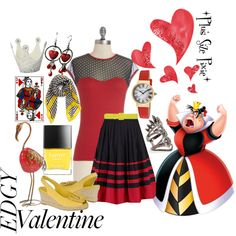 """""""Plus Size Pixie ~ The Original Queen of Hearts"""" by plussizepixie on Polyvore"""