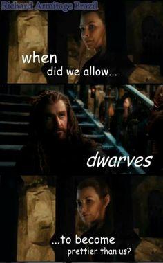 When Thorin became Majestic.. fili and kili as well