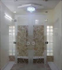 Image result for wood door with glass for pooja room