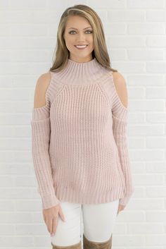 1b70bf8ec0a Count On Me Cold Shoulder Sweater. Fall OutfitsCute OutfitsCounting BoutiqueKnittingCold ...