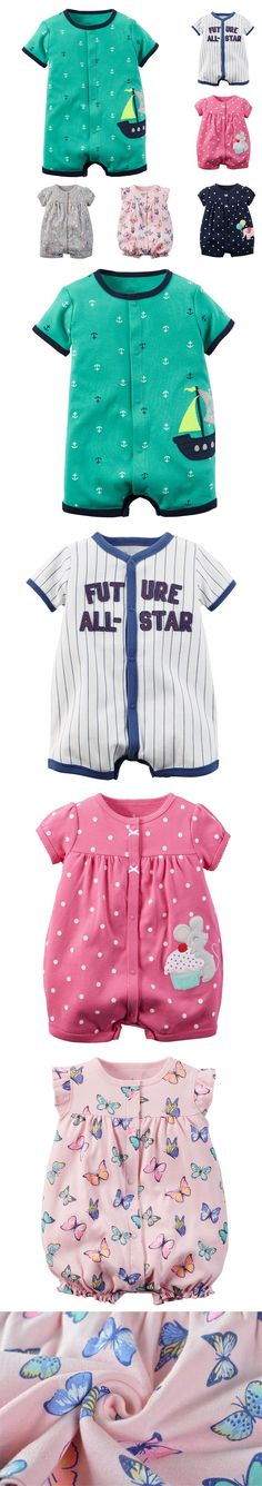 2016 Baby Boy Rompers Summer Baby Girl Clothing Sets Short Sleeve Infant Baby Jumpsuit Newborn Baby Boy Clothes Bebes Suit