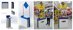 Stand de promocion para BIC diseñador Ignacio Stesina
