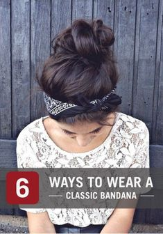 6 Cool Ways to Wear a Classic Bandana