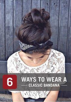 6 Cool Ways to Wear a Classic Bandana