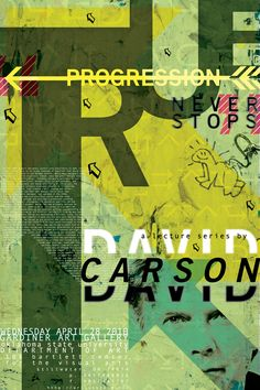 David Carson,who was born September an American prominent contemporary graphic designer, art director ,sociologist,and surfer. Poster Cars, Poster Sport, Poster Retro, Vintage Poster, David Carson Design, David Carson Work, Graphic Design Posters, Graphic Design Typography, Graphic Design Illustration
