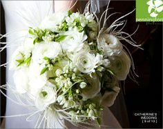 Bouquet - love the Ranuculars but not the feathery things