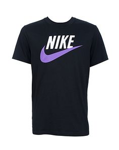 NIKE+Short+sleeve+tee+Crewneck+collar+Lightweight+material+ideal+for+an+active+lifestyle+Logo+screenprinted+on+front