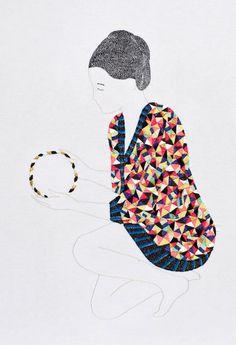 Embroidery by Jazmin Berakha