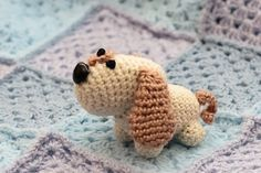If you Dog Lovers, you must crochet this cute amigurumi puppy.