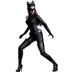 Hot Toys The Dark Knight Rises Cat Woman Selina Kyle 1/6 Scale Collectible Figure (black) 901933 - $195.00