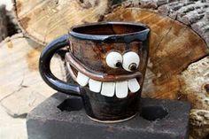 Coffee Mug Design Funny Coffee Mugs, Coffee Humor, Funny Mugs, I Love Coffee, My Coffee, Coffee Cups, Drink Coffee, Tea Cups, Coffee Break