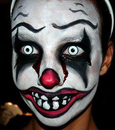 Scary Clown Makeup Tips