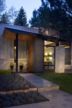 Modern Nature Mid-Century Ranch renovation in Aspen